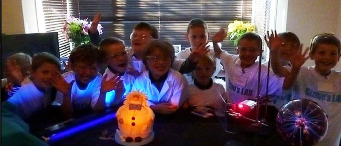 Birthday Parties Kids Science Parties